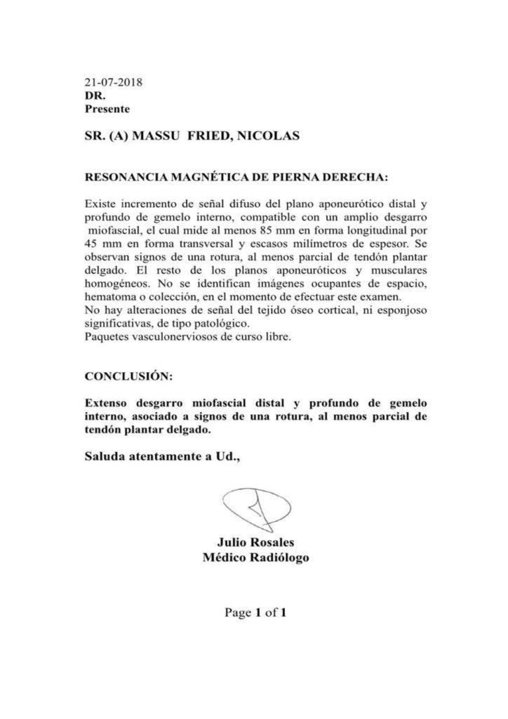 Massú vs. González: La Revancha, Cambia de Fecha 1